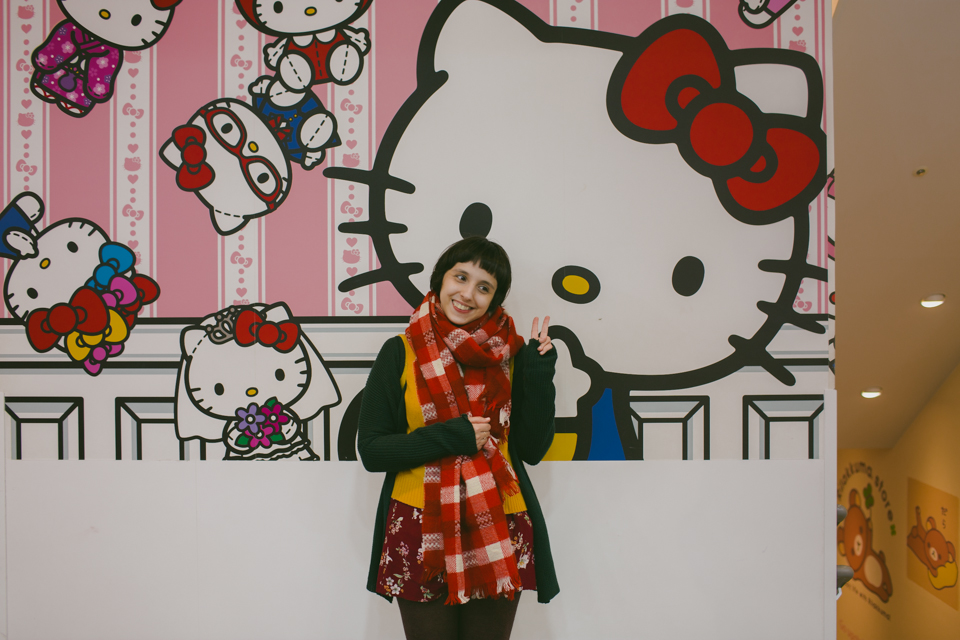 Kiddyland Harajuku - The cat, you and us