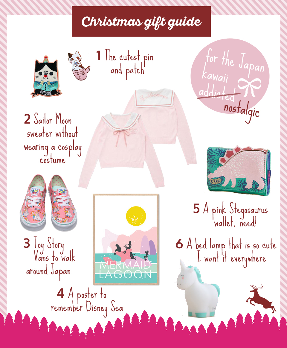 Christmas gift guide for the Japan kawaii addicted - The cat, you and us