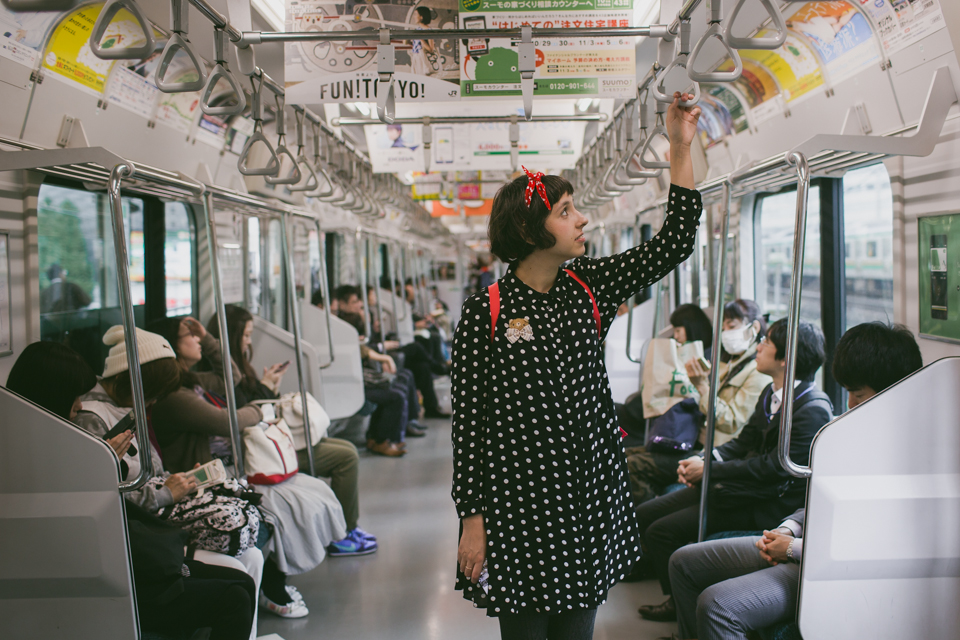Yamanote line Tokyo - The cat, you and us