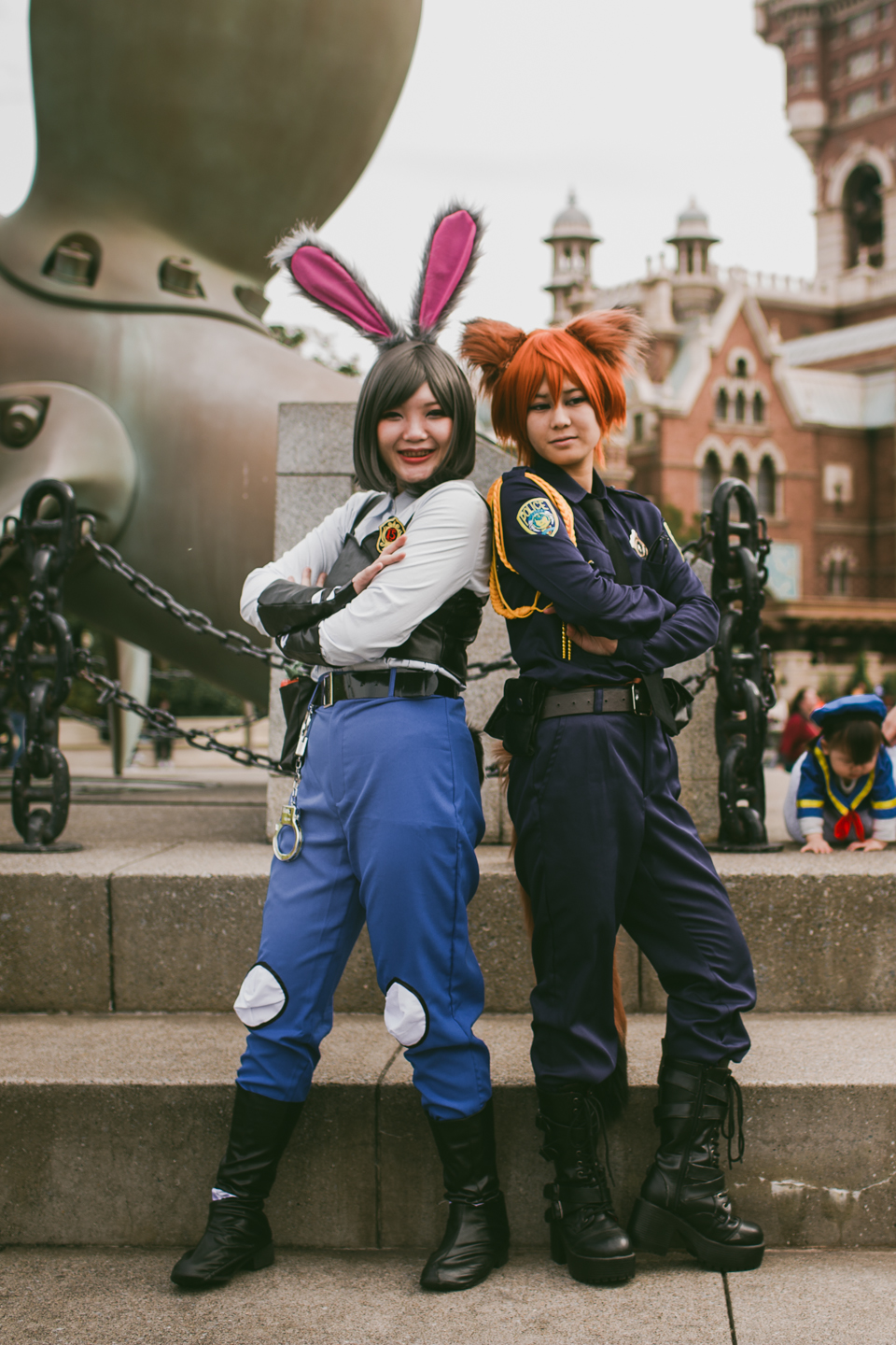 Tokyo DisneySea Zootopia costumes - The cat, you and us