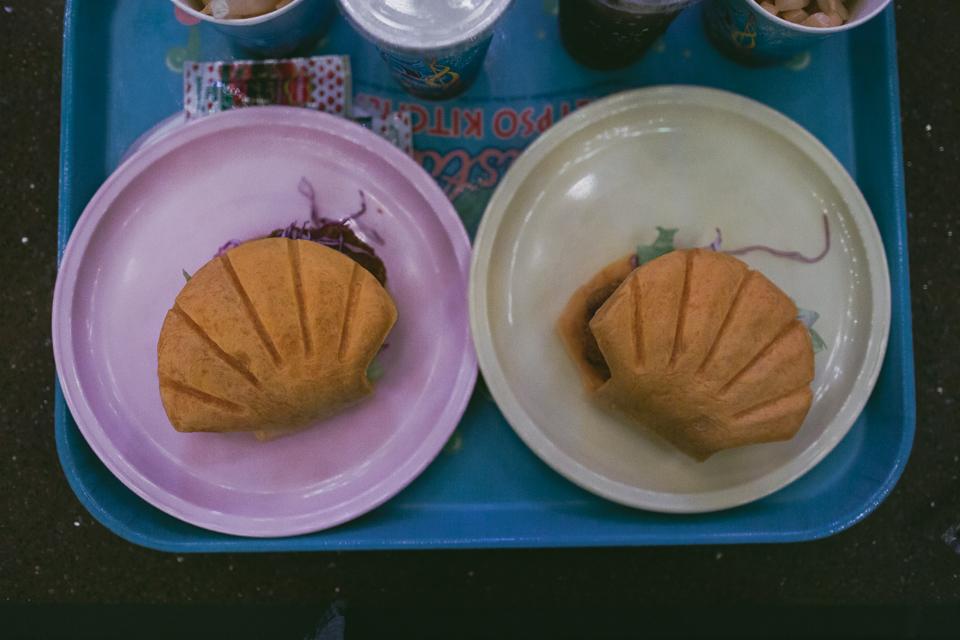 Tokyo DisneySea Mermaid Lagoon food - The cat, you and us