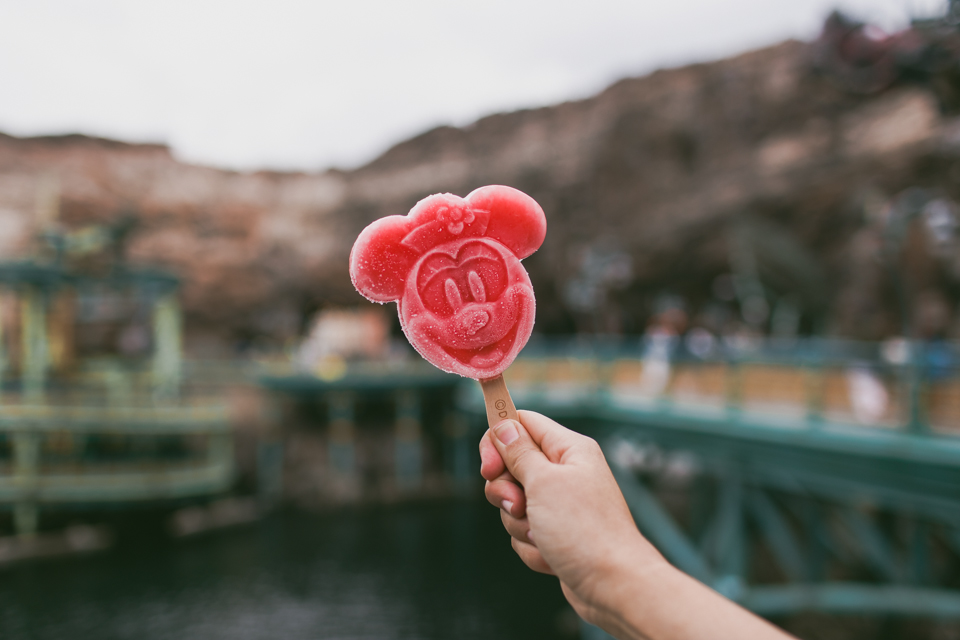 Tokyo DisneySea Minnie popsicle - The cat, you and us
