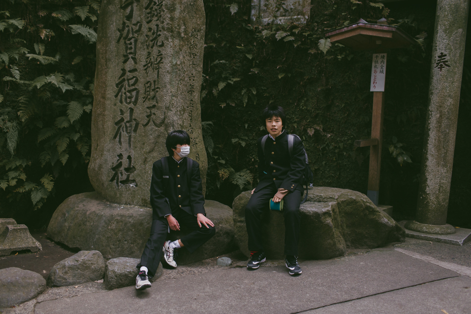 Zeniarai Benzaiten Shrine Kamakura - The cat, you and us