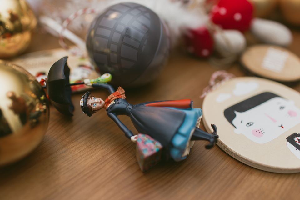 Christmas home decor 2016 Mary Poppins - The cat, you and us