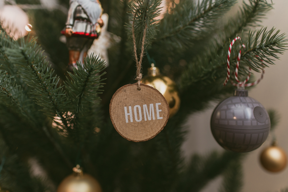 Christmas home decor 2016 - The cat, you and us