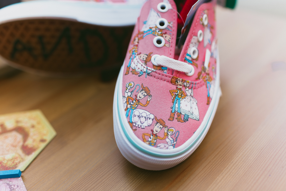Christmas 2016 gifts Toy Story Vans - The cat, you and us