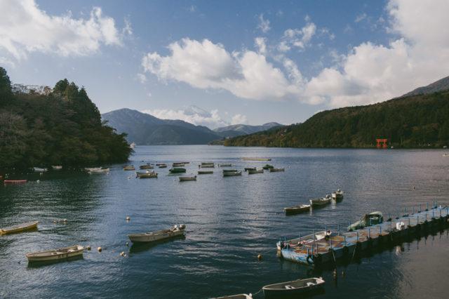 Lake Ashi Hakone - The cat, you and us