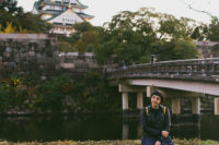 Osaka castle - The cat, you and us