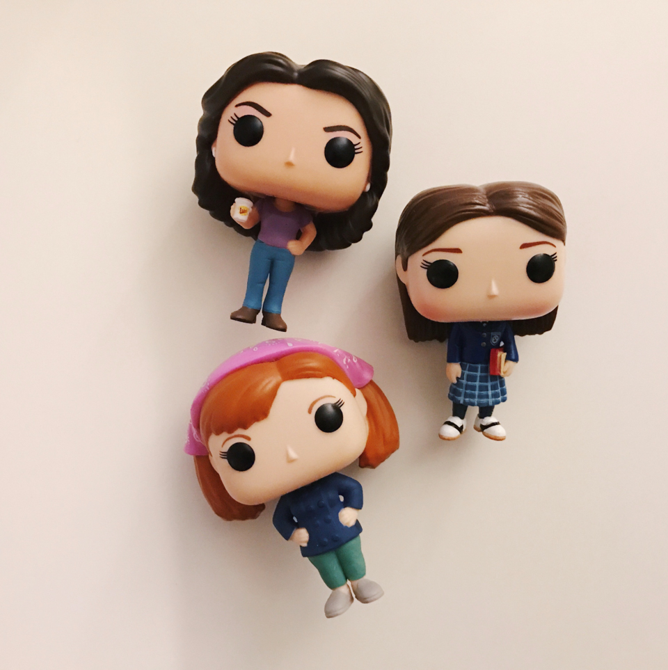 Gilmore Girls Funko pop - The cat, you and us