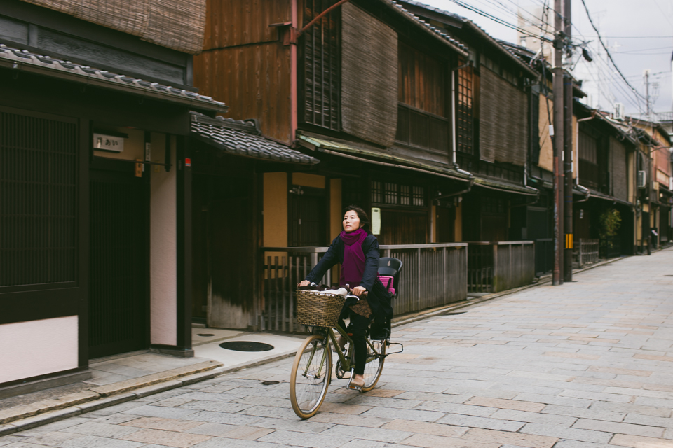 Kyoto streets - The cat, you and us