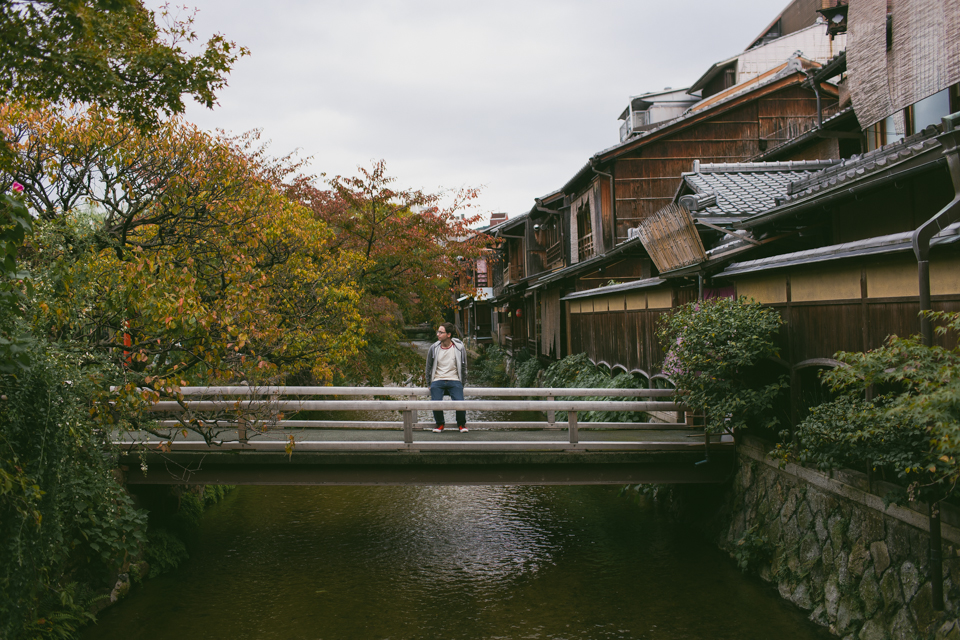 Kyoto canals - The cat, you and us