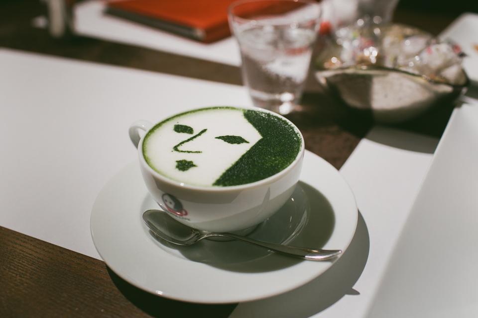Yojiya Café - The cat, you and us