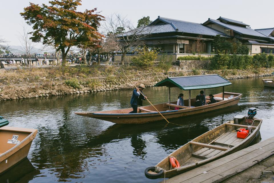 Arashiyama riverside - The cat, you and us