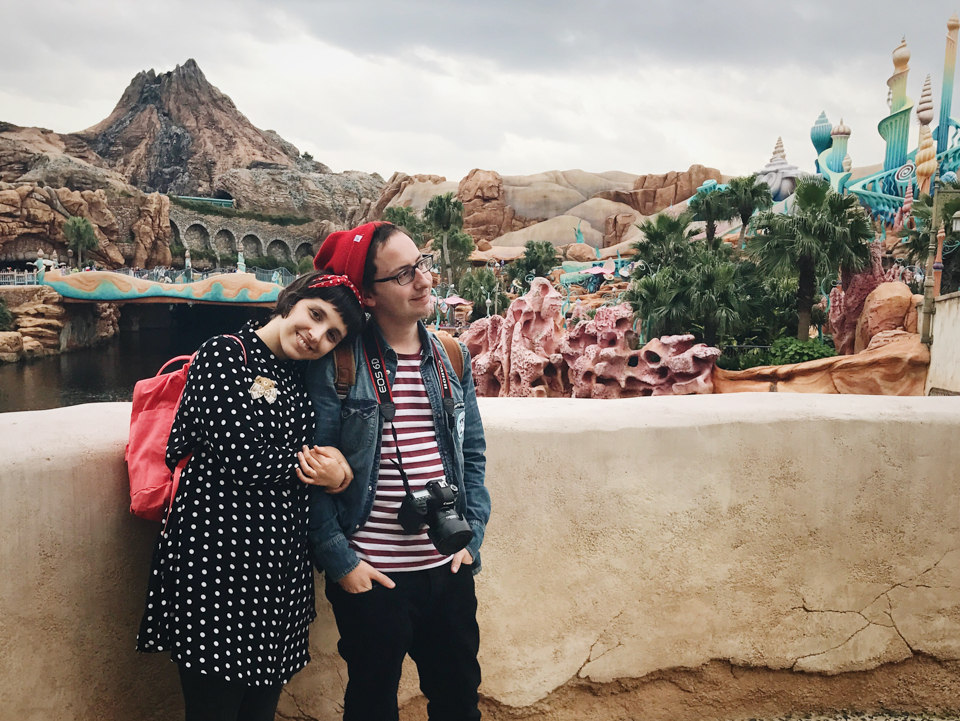 Us in Disneysea by a Japanese local - The cat, you and us