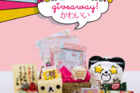 Giveaway kawaii & snacks Japan - The cat, you and us