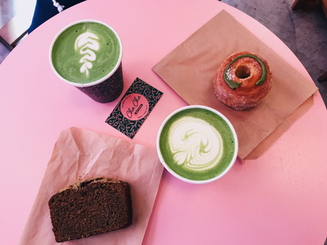 Cha Cha Matcha New York City - The cat, you and us