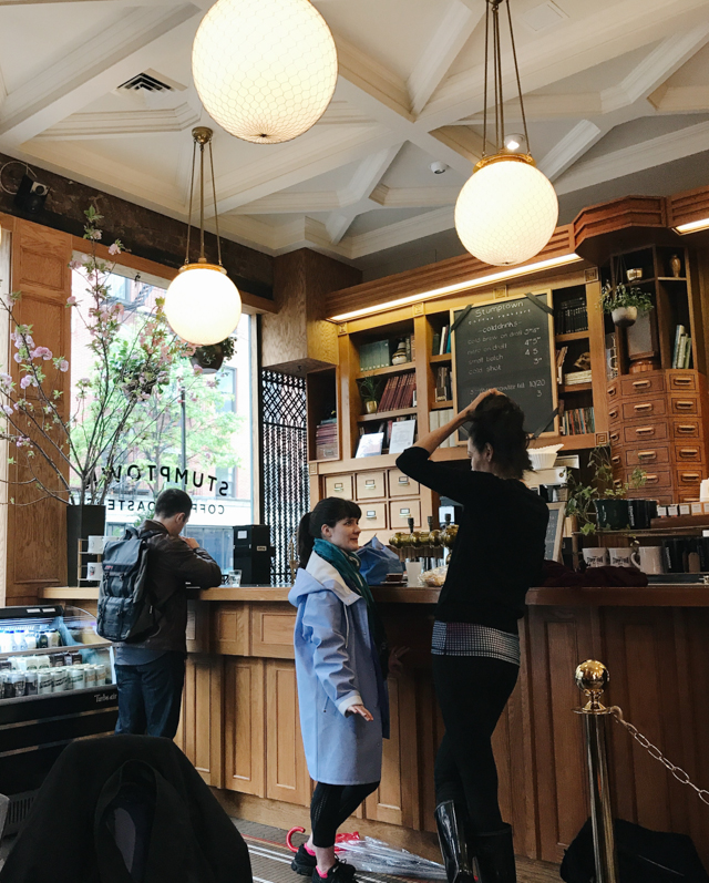 Stumptown Coffee Roasters New York City - The cat, you and us