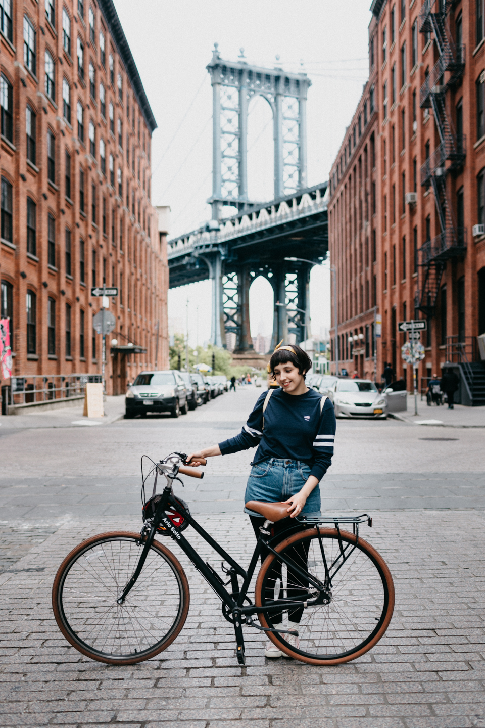 Bikes at Dumbo - The cat, you and us