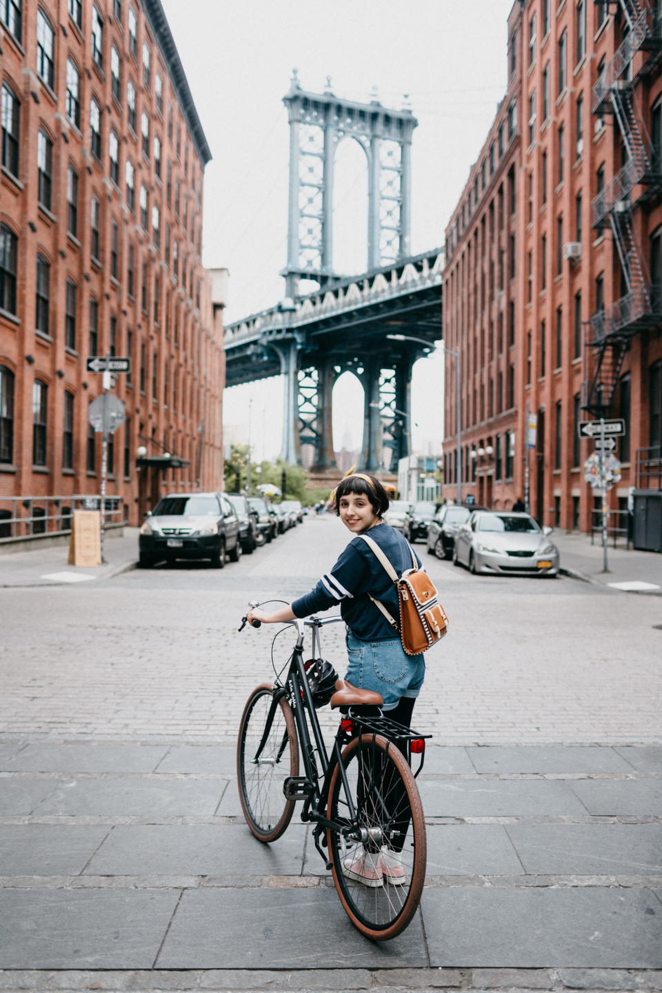 NYC: Bikes in DUMBO
