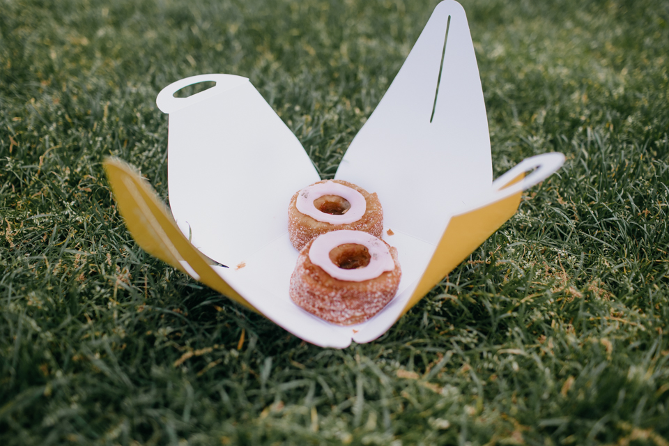 Cronuts in Central Park - The cat, you and us