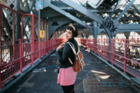 Williamsburg bridge - The cat, you and us