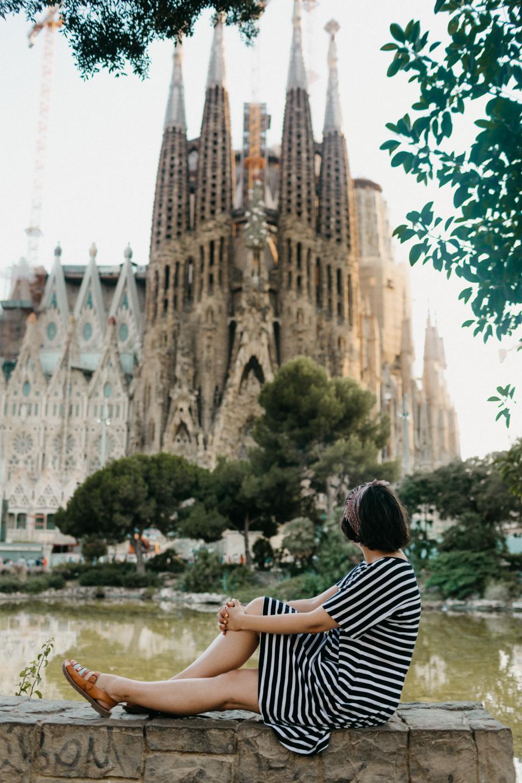 Sagrada Familia views - The cat, you and us