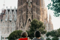 Sagrada Familia views - The cat, you and us