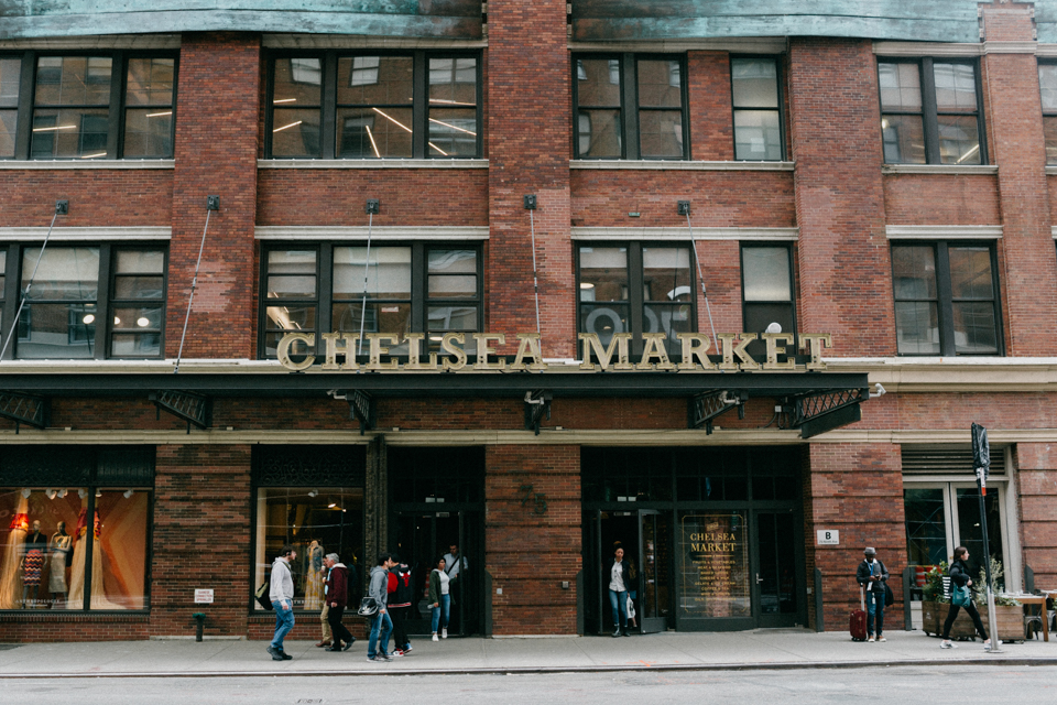 The Chelsea Market NYC - The cat, you and us