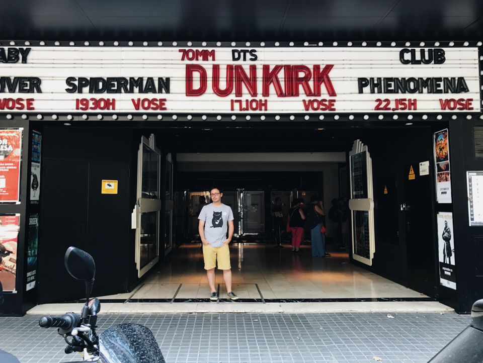 Dunkirk Phenomena cinema Barcelona