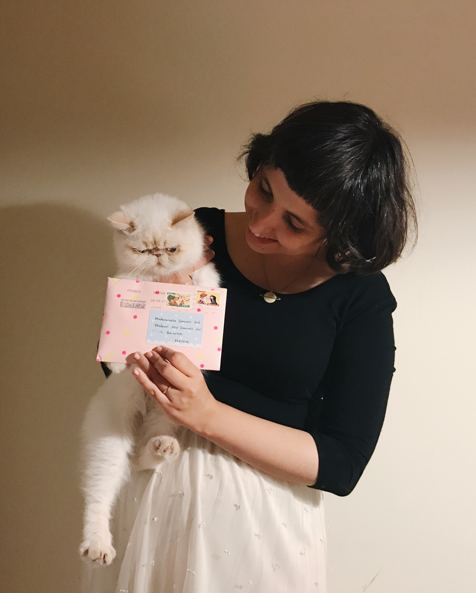 Juno's penpal - The cat, you and us