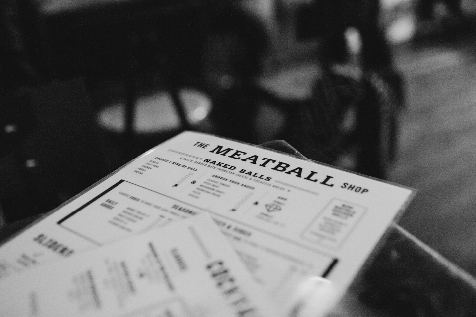 The Meatball Shop Chelsea NYC - The cat, you and us