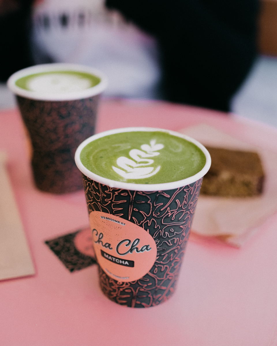 Cha cha matcha NYC - The cat, you and us