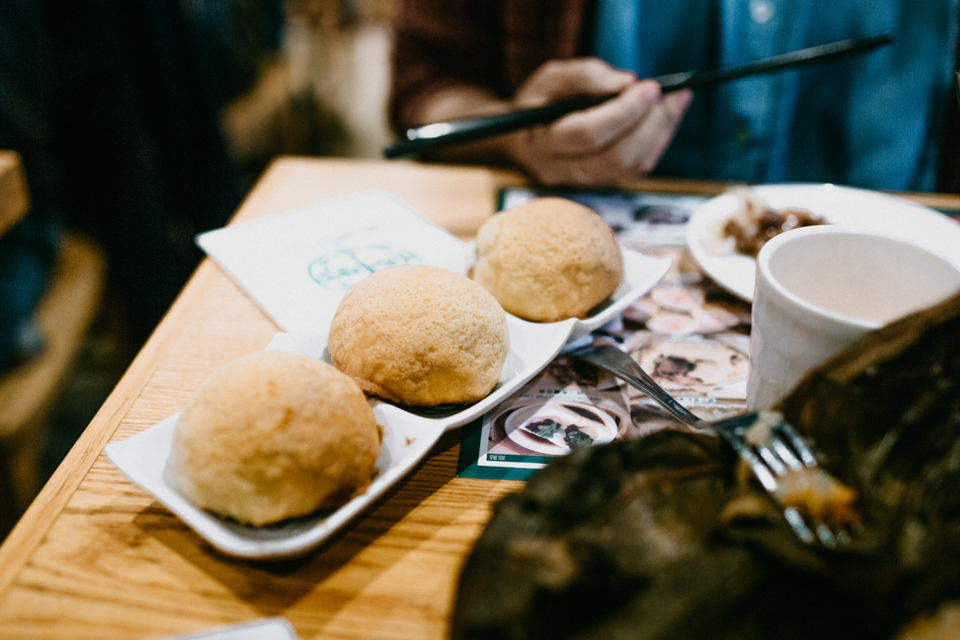 Tim Ho Wan NYC - The cat, you and us