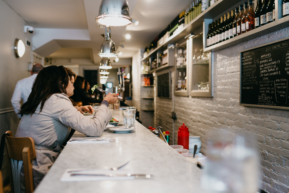 Eds Lobster Bar - The cat, you and us