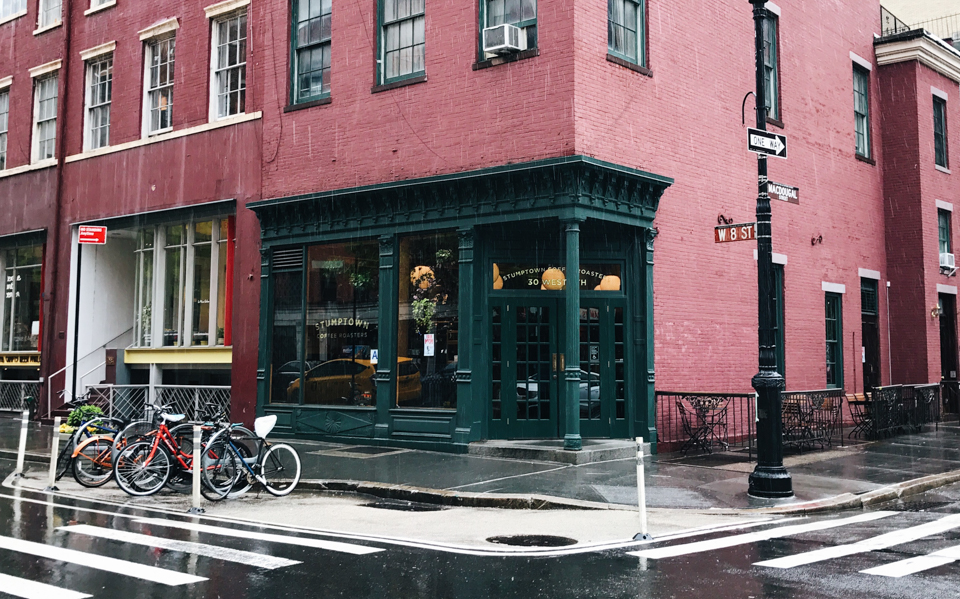 Stumptown Coffee Roasters NYC - The cat, you and us