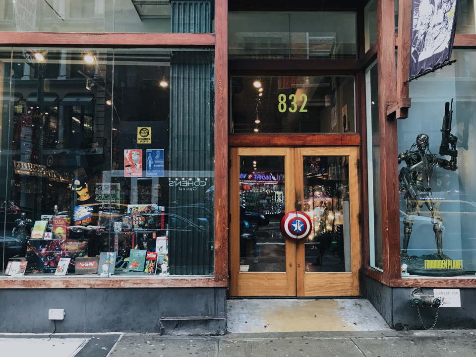 Forbidden planet NYC - The cat, you and us