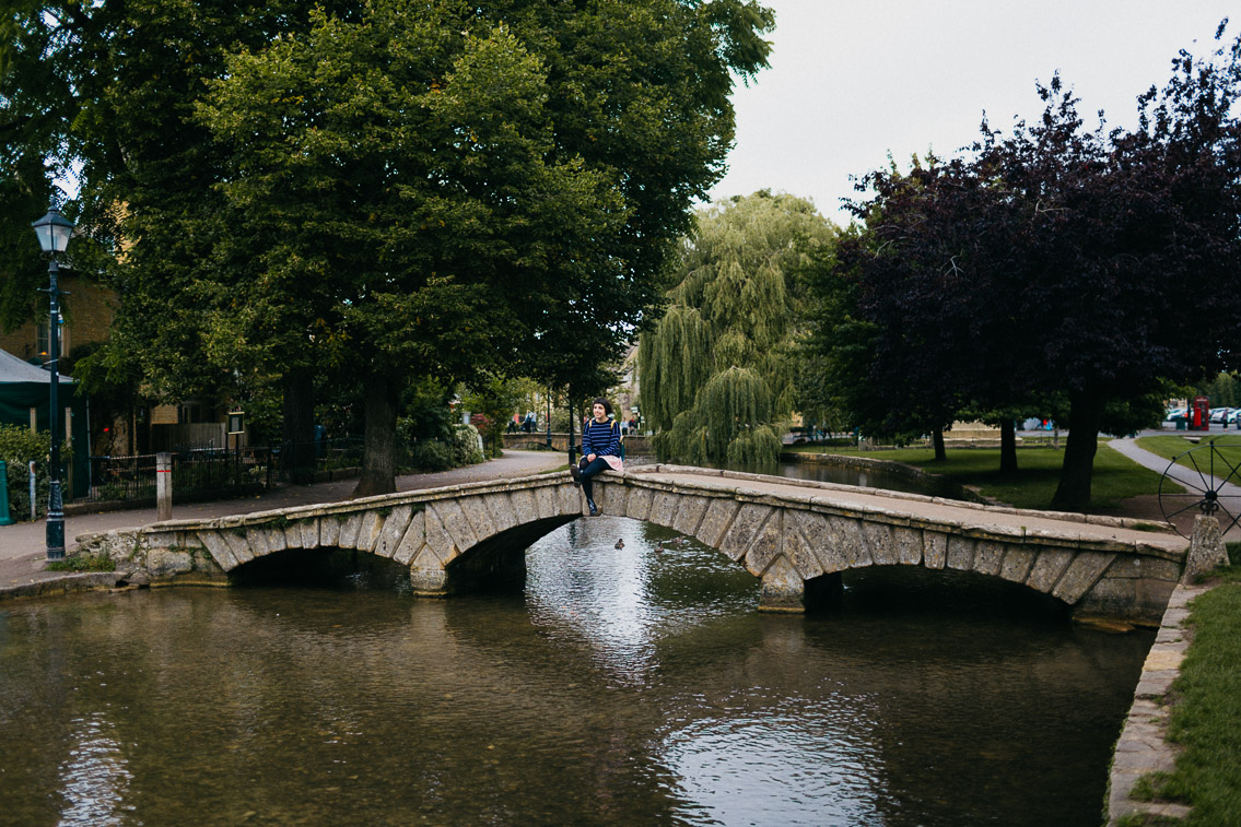 Bourton on the water - The cat, you and us
