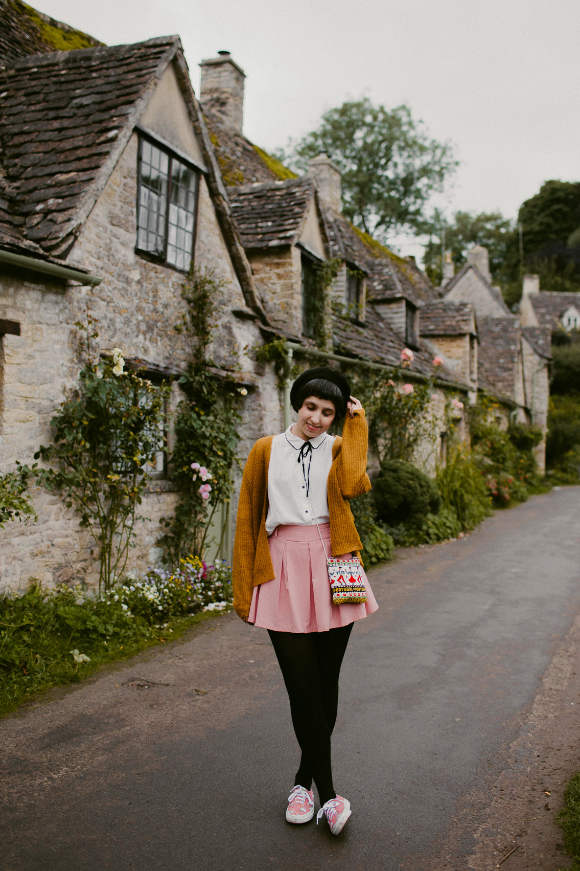 Bibury - The cat, you and us