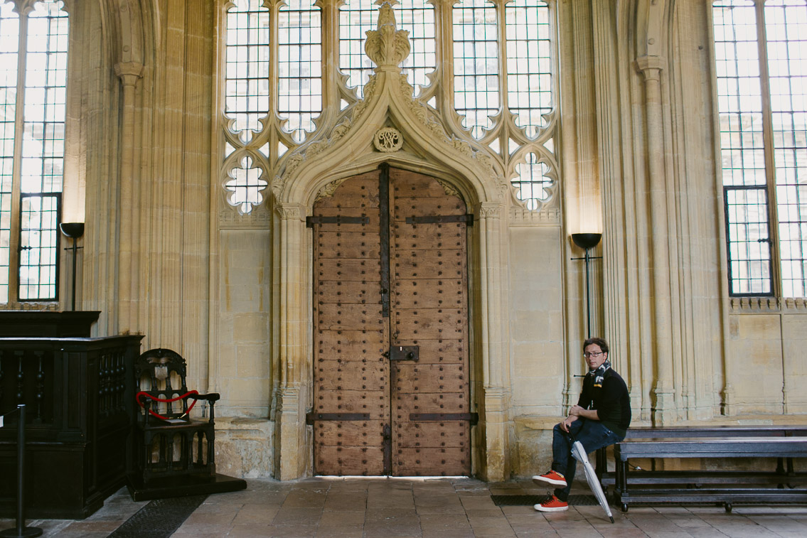Bodleian Library Divinity School - The cat, you and us