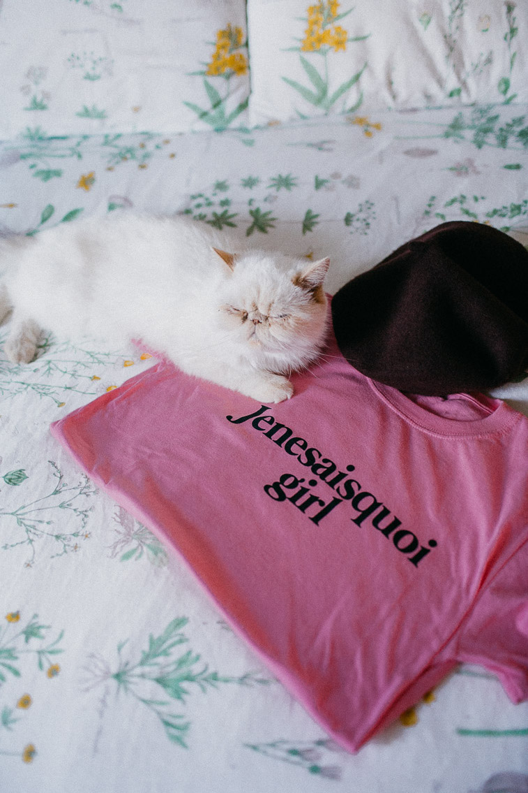 Je ne sais quoi girl - The cat, you and us