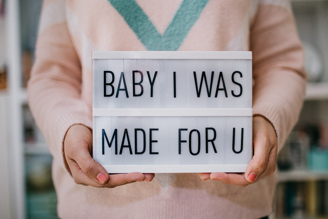 Baby I was made for u -The cat, you and us
