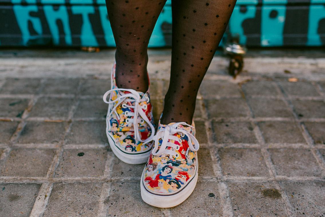 Disney princesses Vans - The cat, you and us
