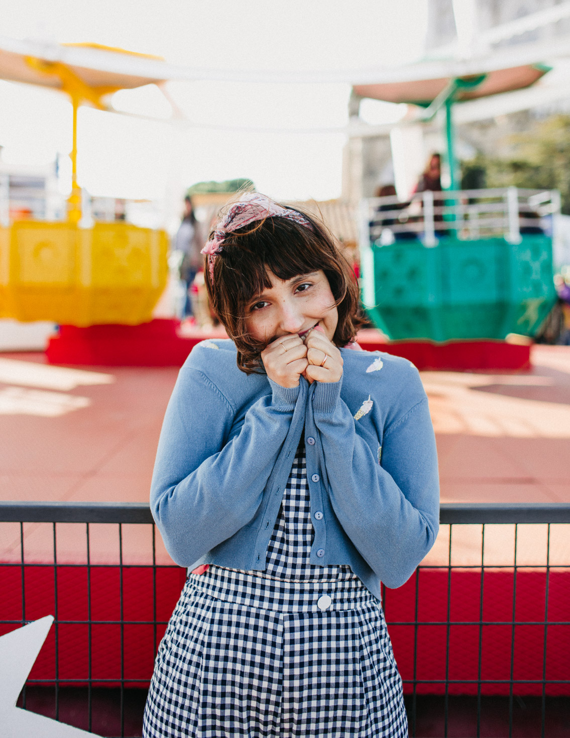 Tibidabo outfit - The cat, you and us