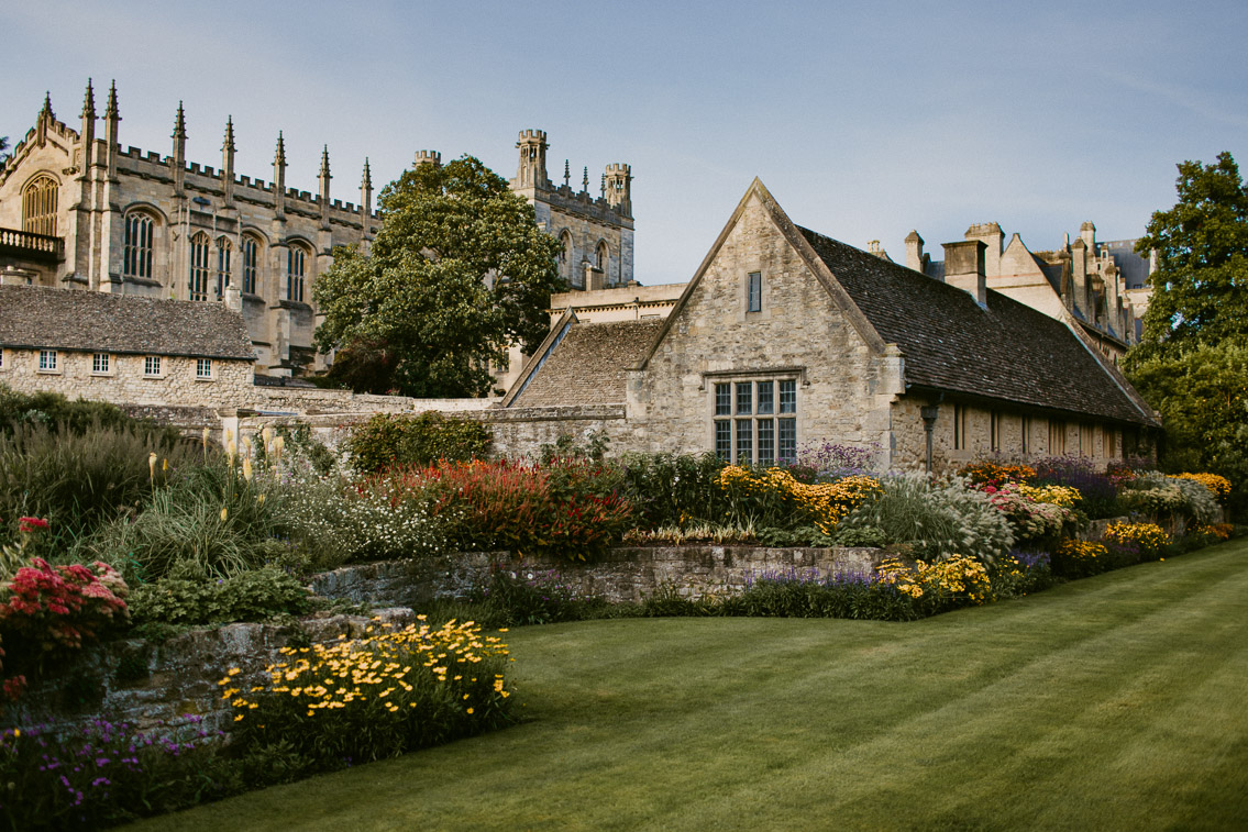Christ Church College Oxford - The cat, you and us