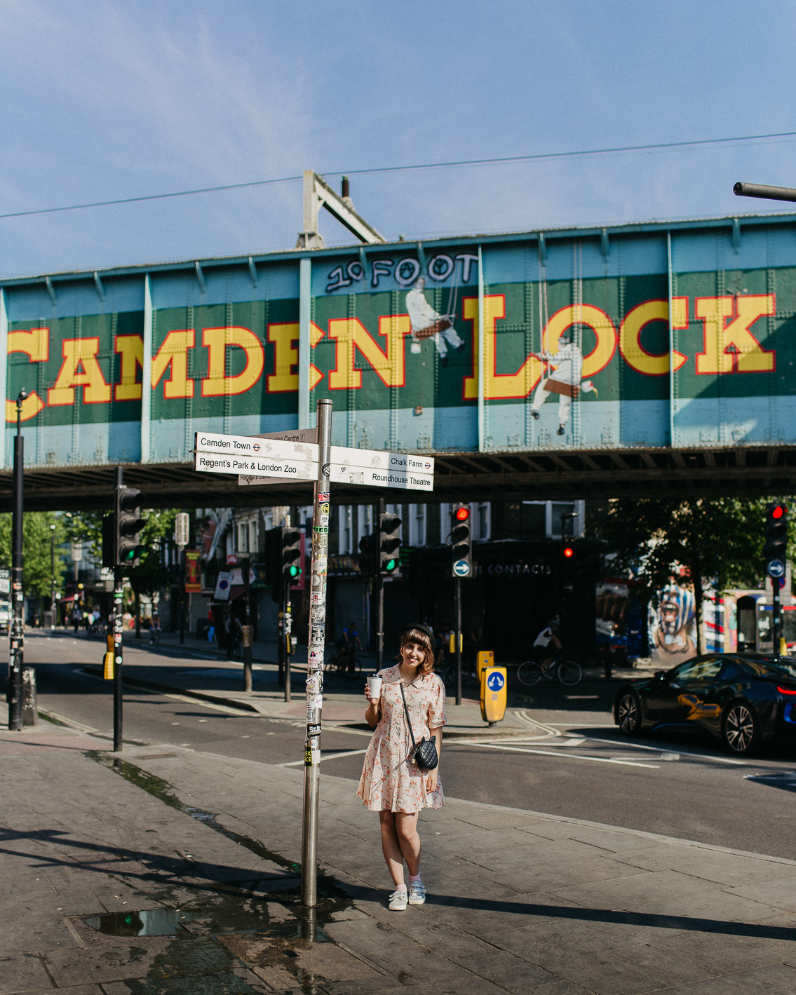 Camden Lock - The cat, you and us