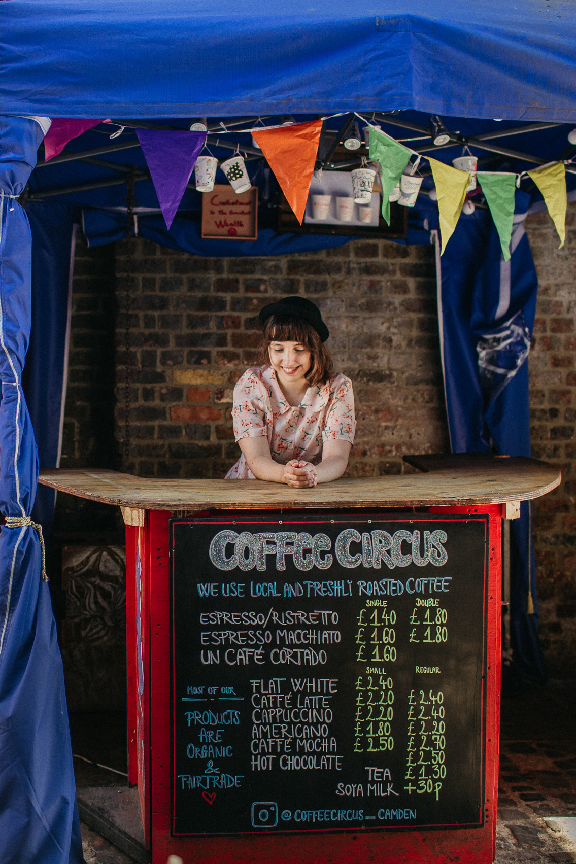 Coffee Circus Camden Market - The cat, you and us