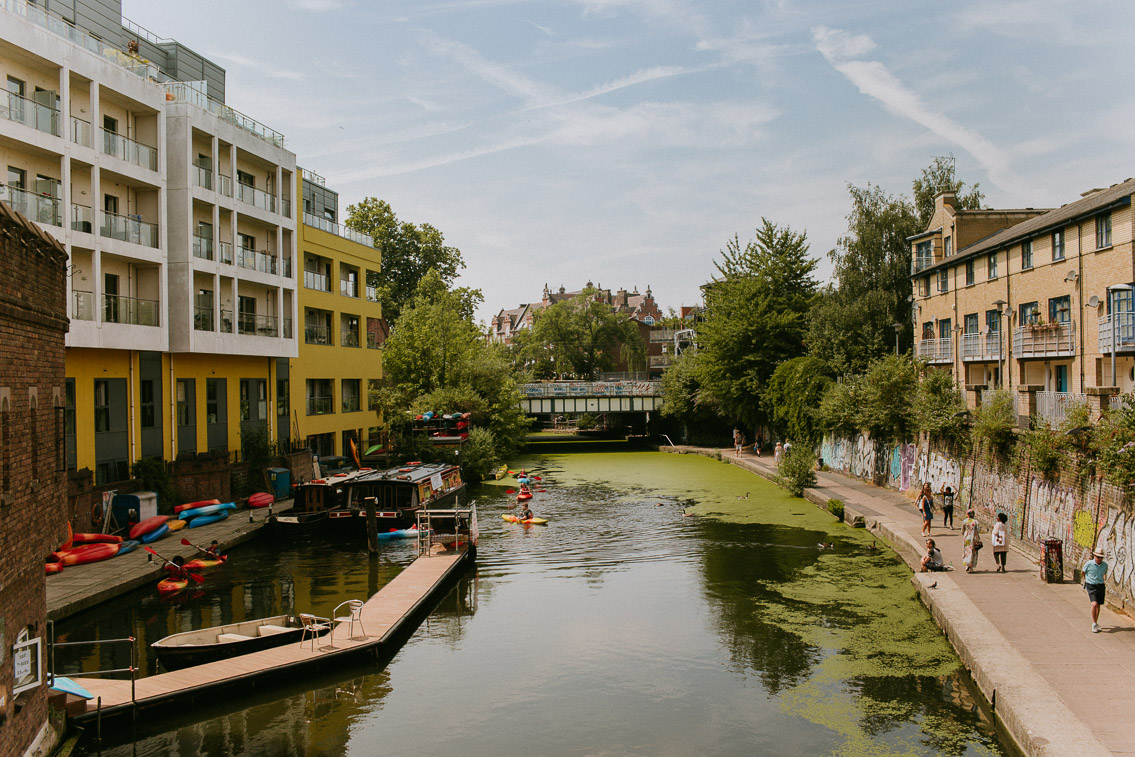 Regents Canal - The cat, you and us