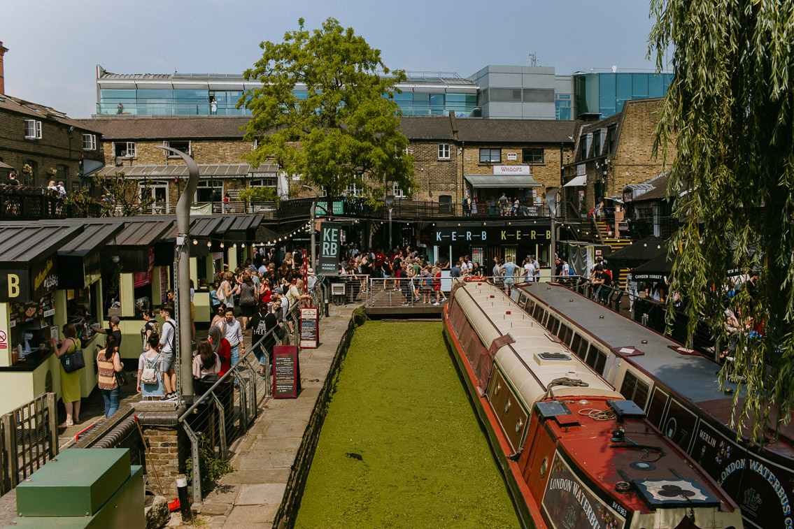Camden Market - The cat, you and us
