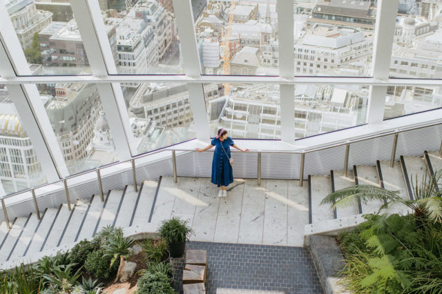 Sky Garden London - The cat, you and us
