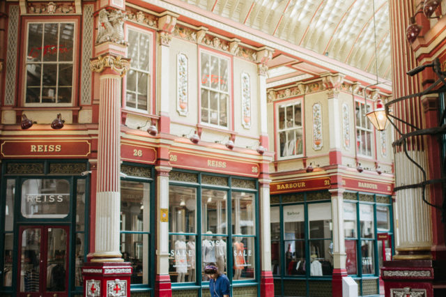 Leadenhall market - The cat, you and us